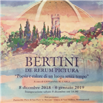 "Mostra ""De Rerum Pictura"" di Marcello Bertini"